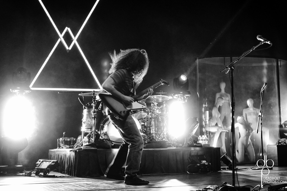 Coheed killing it in NYC.