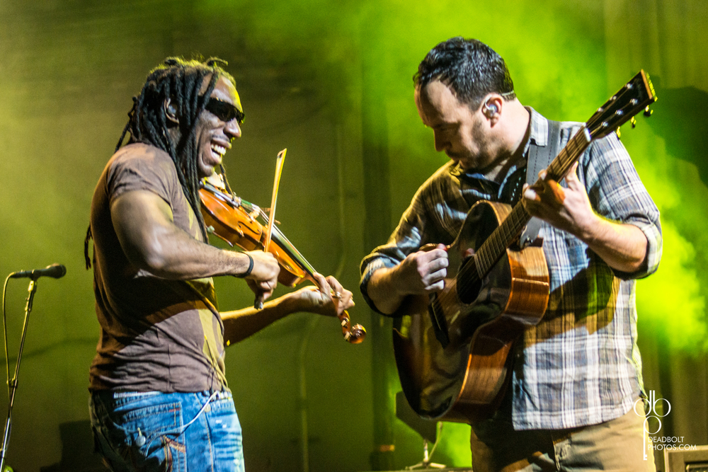 Boyd Tinsley and Dave Matthews