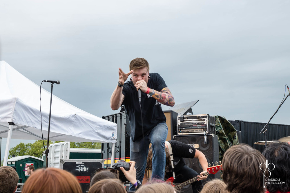 Wolves at the Gate at Skate and Surf festival, day 1.