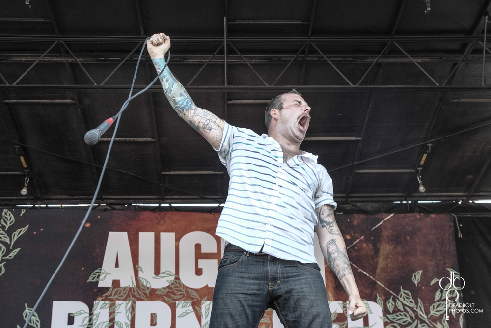 August Burns Red at the PNC stop on Warped Tour 2013