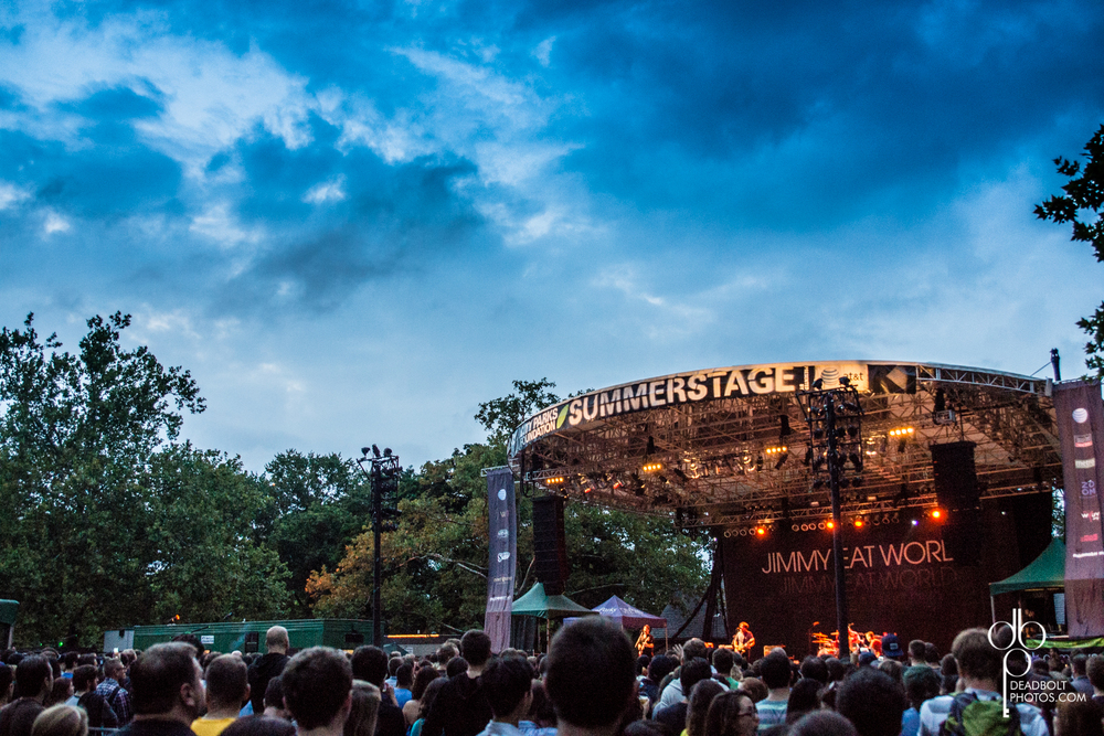 Jimmy Eat World in Central Park