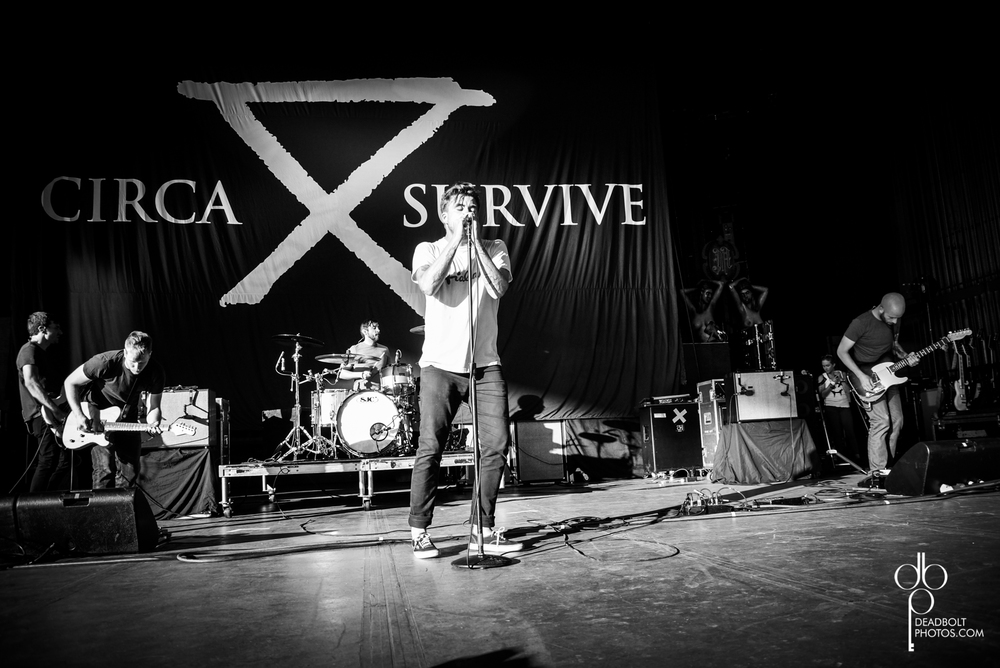 Circa Survive playing Upraor Festival at PNC Bank Arts Center