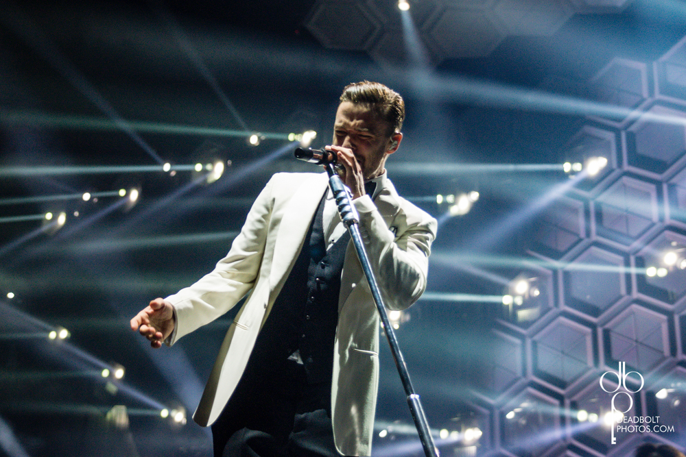 Justin Timberlake kicks off his tour at Barclays Center in Brooklyn.