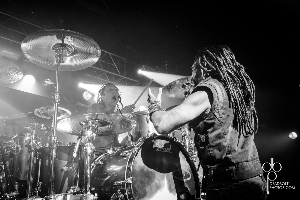 Lajon and Morgan of Sevendust