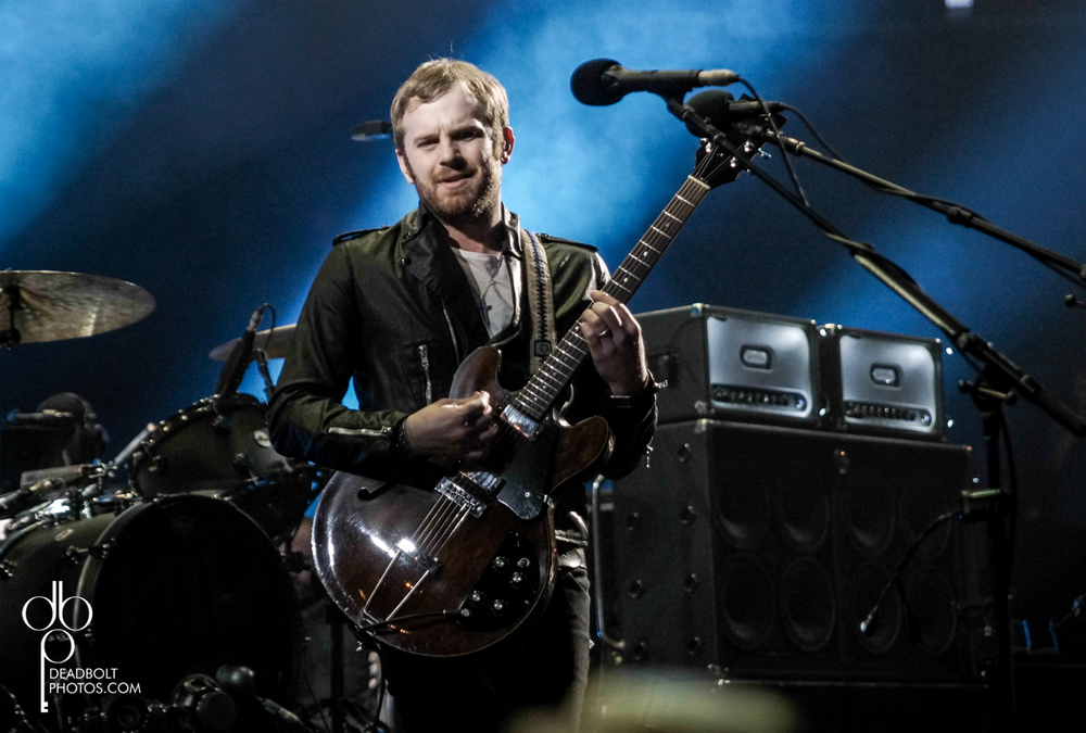 Caleb Followill led Kings of Leon in NYC's Madison Square Garden