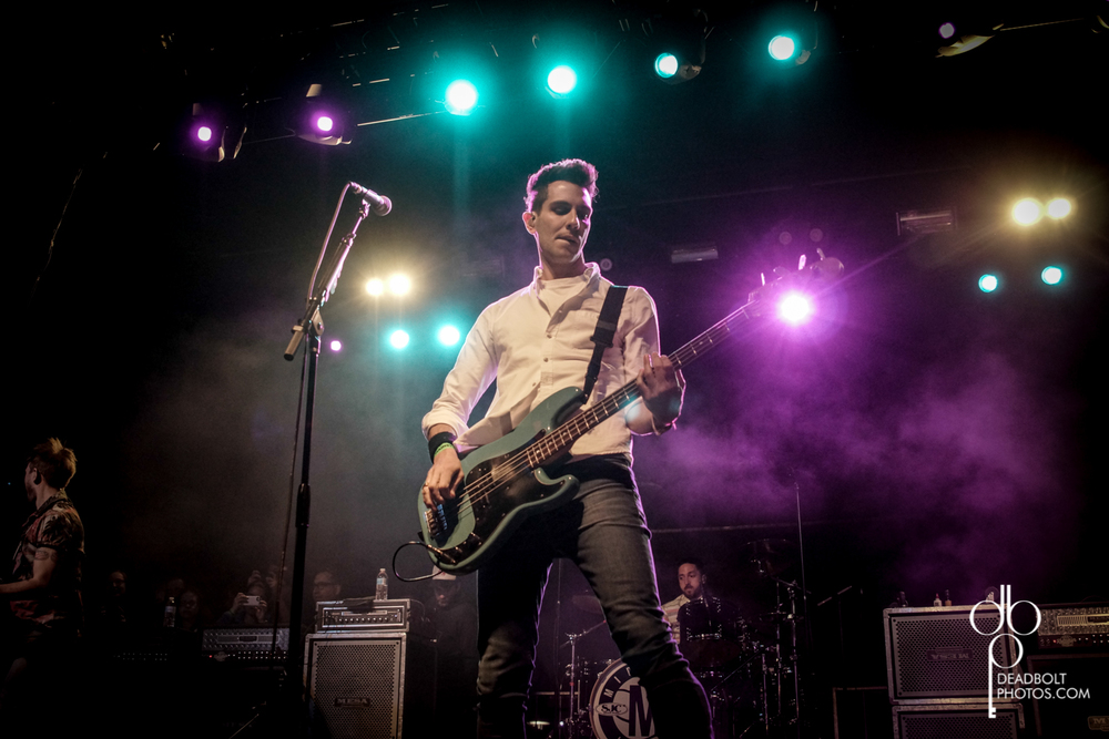 Gabe Saporta led Midtown; Headlining Day 1 of Skate and Surf Festival