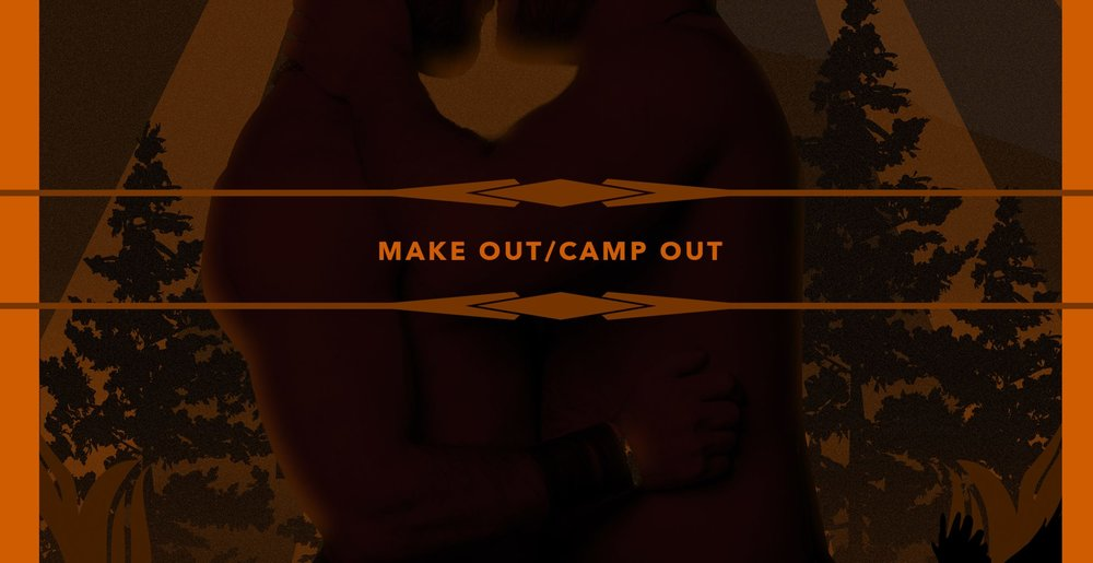 The Make Out Party is taking over Nash Woods, a multi acre private estate in Southern Washington, for the weekend! Everyone will be pitching a tent, getting hot and sweaty, and enjoying a weekend retreat in the woods at this beautiful estate. Saturday we'll be hosting a Make Out Party in the woods with the forest as our photo booth background all the way through the beautiful sunset.  Over the course of the weekend take advantage of the Zip Line, Horse Shoe Pits, Disc Golf Course, the lush green lawns strewn around the property, and if you're lucky enough to find an open hammock hanging between some trees (hint: bring a hammock) all the afternoon naps you can wish for. Music starts early in the day and goes well past dark. The Amphitheater will be the central hub of the weekend.  (Address and additional info will be provided to ticket buyers) Tickets:  www.universe.com/campout    -Yo Yo Yoga will be on site so yoga mats are encouraged. -Art, Aerialist, Lighting, Sounds throughout the weekend. -We will have a full bar on site all weekend with beer, wine, and liquor. -Meals, Concessions, Brunch provided by Wildflower Kitchen & Bakery.  Cash and Card accepted for all food, drinks, meals, alcohol, etc….  Make Out Camp Out Brunch starts at Noon on Saturday August 25th and Sunday August 26th  2 Night Pass - $70 1 Night Pass - $40 Day Pass - $30 (Saturday August 25th Only, 8am-10pm)  August 24th – Gates open at 5pm (2 Night Pass Holders Only) August 25th – Gates open at 8am (1 Night Pass Holders) August 26th – Gates close at 5pm August 25 th – 10am-10pm (Single Day Pass Holders)  First Come, First Serve for tent sites.  We provide the space, food, alcohol, and fun! You bring yourself, your tent, chairs, and whatever you need for the weekend! Cash and Card will be accepted for all food, drinks, meals, alcohol, etc…..  Music BOTTOM FORTY (Nark + Drake Forsyth) RECESS (Shameless)  Hosted By: Pepper Pepper  Photobooth(s) by Nark Magazine, photos by Roman Robinson  NOTES: Space is very limited for vehicles. PLEASE fill every seat in your car with a person when making your way out.  NO OUTSIDE ALCOHOL! (Food ok)  Alcohol and Food will be made available for purchase the entire weekend! Cash and  Card Accepted!