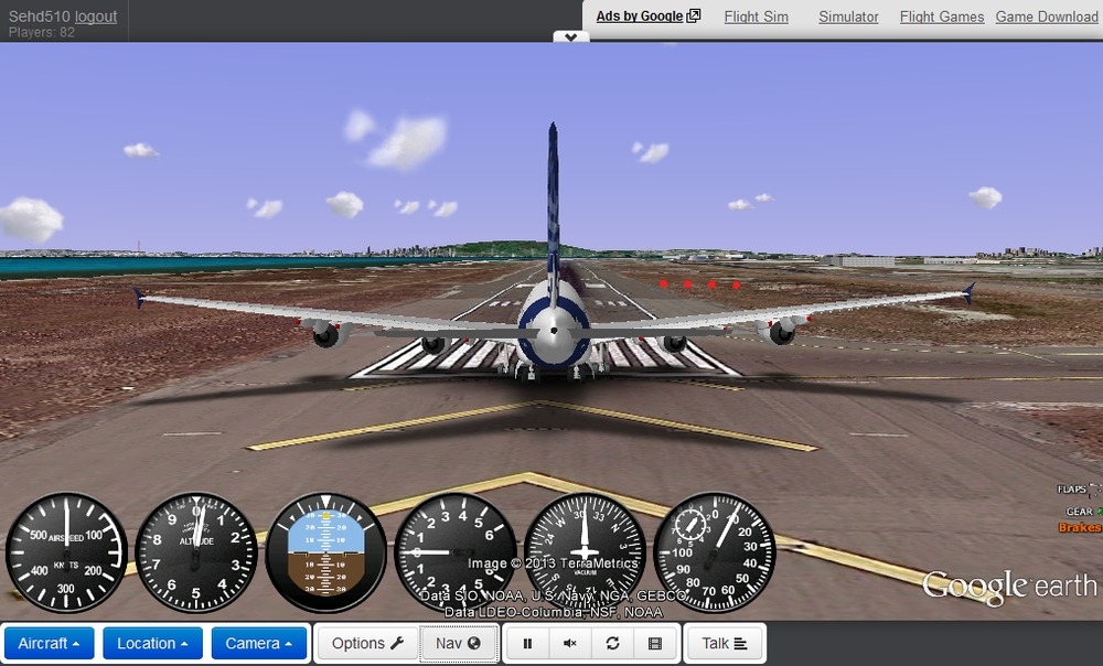 Rc flight Simulator online game gefs