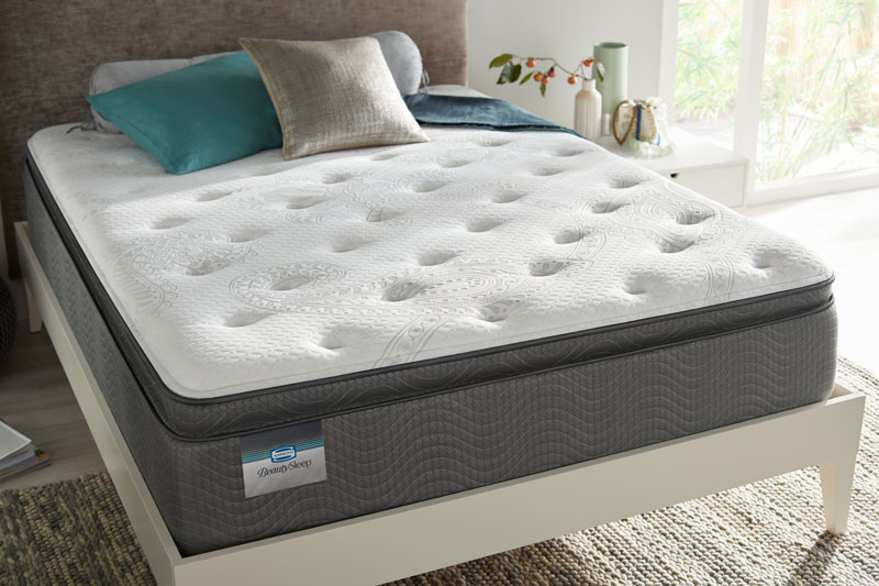 Rooms Today is now carrying Simmons Beauty Sleep!  Come check out the Allegra Pillow Top Plush!