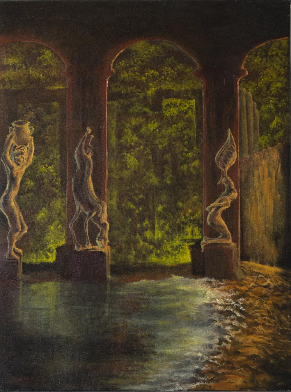 """Copy of """"Metamorphosis"""", Oil Painting, 30"""" x 40"""""""