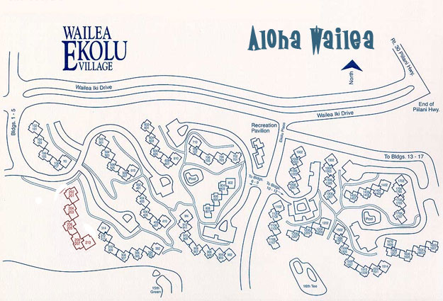 Ekahi Village Map Ekolu Village Map — Aloha Wailea Ekahi Village Map