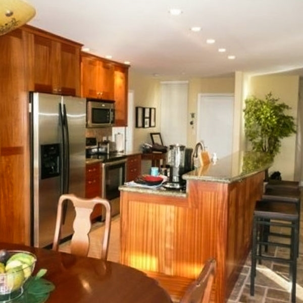 Two Bedroom - Downstairs  Ekahi Unit 54A