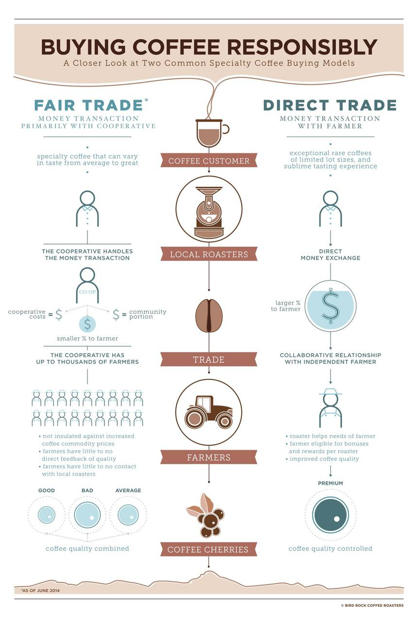 Infographic courtesy of: Bird Rock Coffee Roasters
