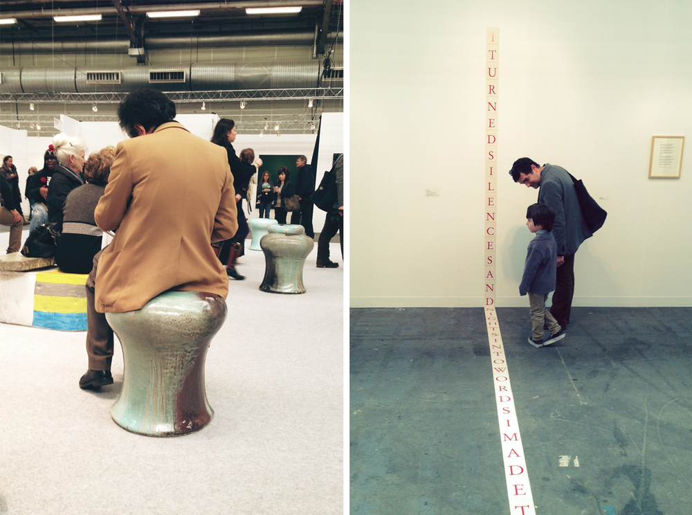 at the Armory Show.