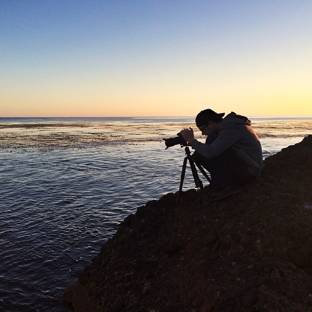 Capturing the magic hour with @williamdrumm at Point Lobos. Going to miss the Monterey Peninsula.