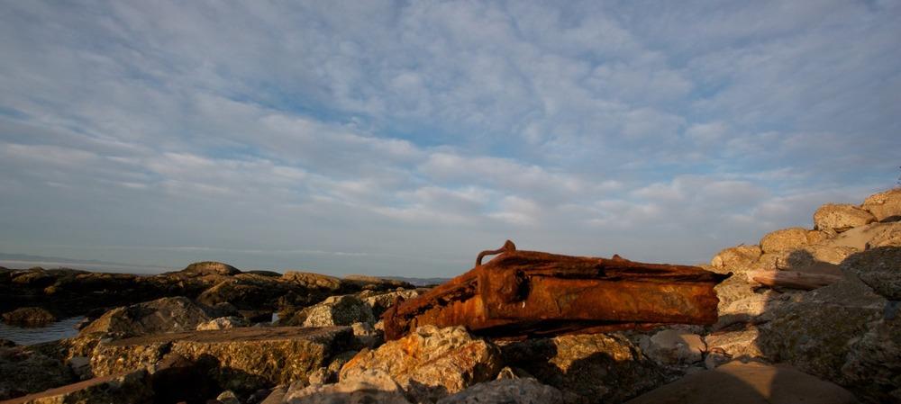 2012-02-05 at 08-17-58 sunrise seashore seascape rocks rust decay ocean.jpg
