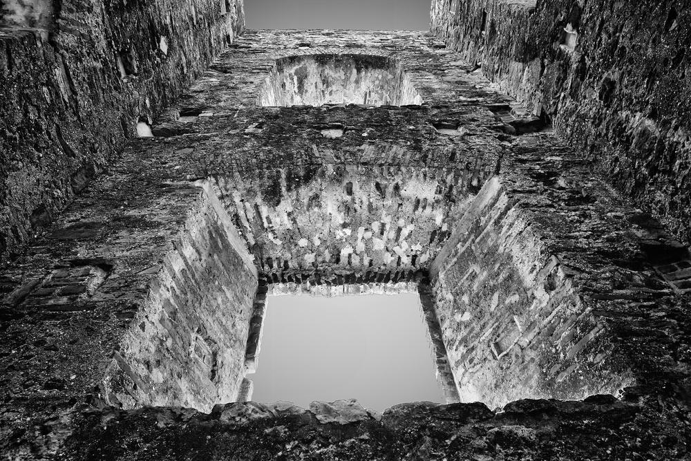 2012-12-31 at 09-28-39 Black & White, Brick, Casco Viejo, Panama, Sky, Wall.jpg