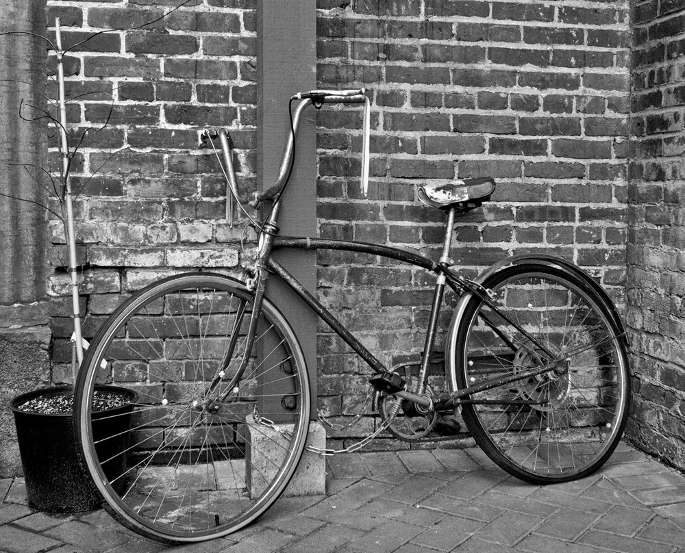 2012-02-04 at 15-14-21 Bicycle, Black & White, Bricks, Old, Street Life Urban.jpg