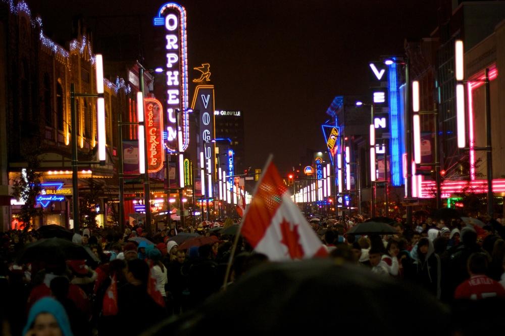 2010-02-28 at 00-21-09 2010, Granville, Lights, Night, Olympics, Street Life, Vancouver, Winter.jpg