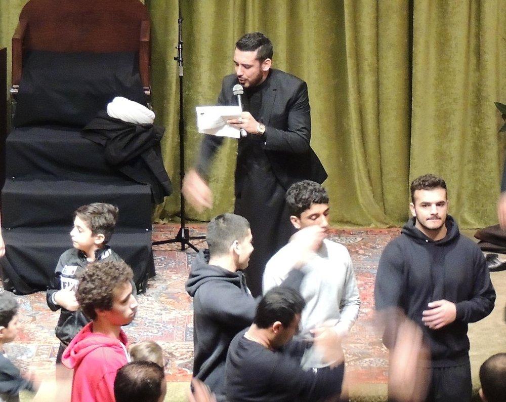 2016 Ashura: Br. Ali Fadhil