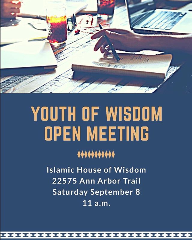 Looking for a way to gain leadership experience while servicing your community? Stop by and learn about the Youth of Wisdom during our next open meeting.