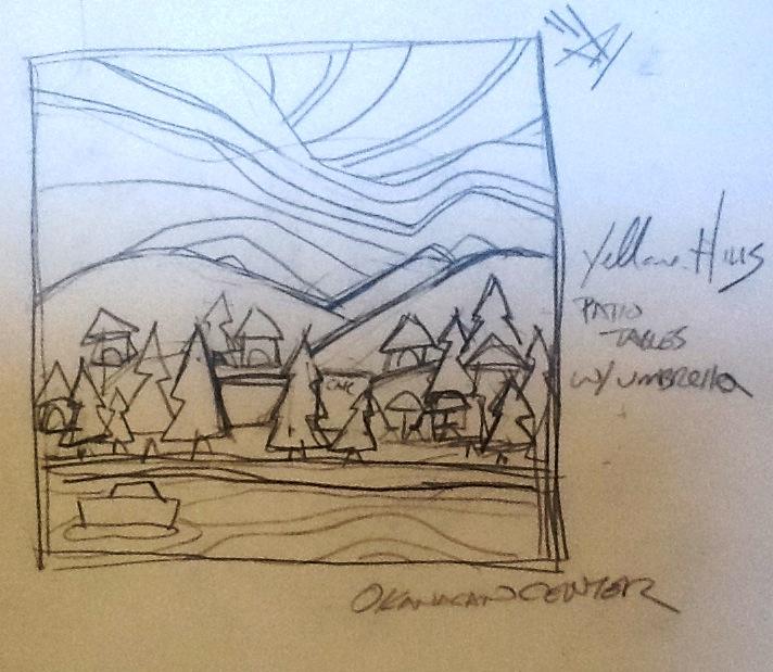 Sketch of Okanagan Centre