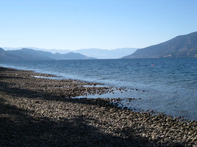 Okanagan Centre beach