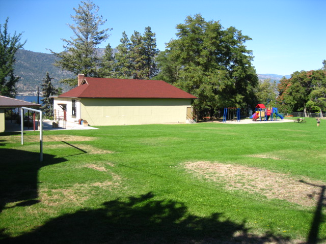 The back of the Museum and Park