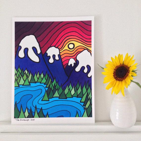 8x10 or 11x14 Print