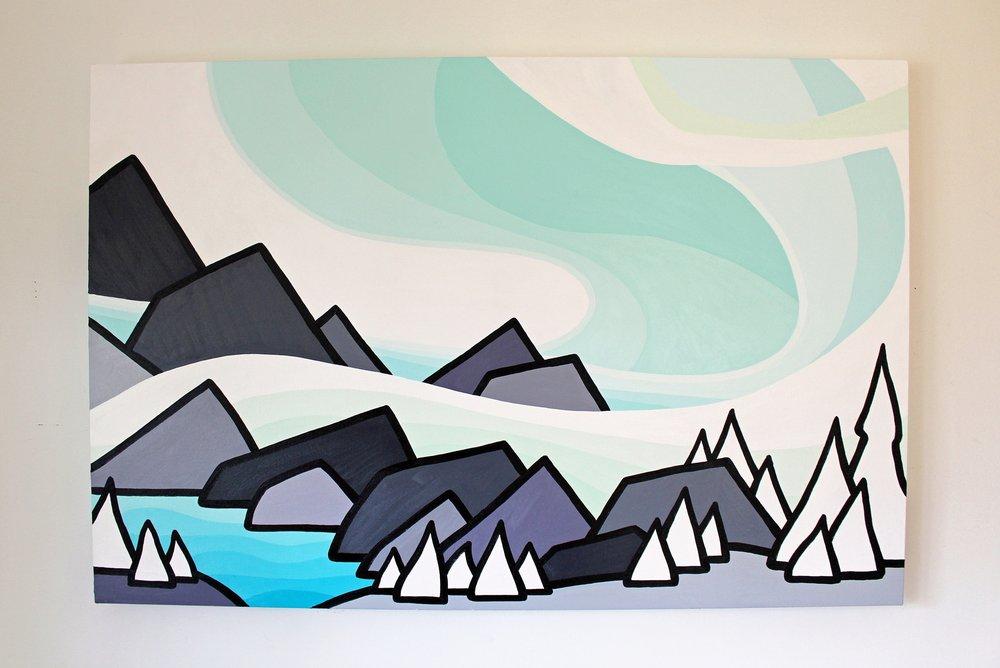Glacier Lake - Size: 24