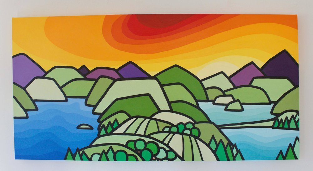 Title: The Lakes - Size: 18