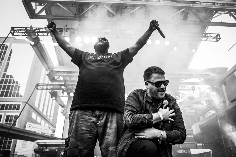 Run The Jewels at NXNE 2014. © Matt Forsythe