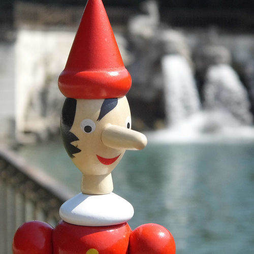 This the LEAST creepy image of Pinocchio I could find. #sadbuttrue