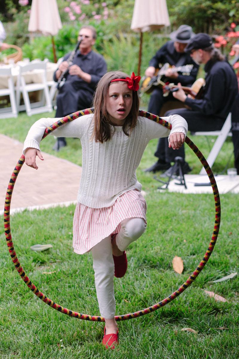 hula hoop wedding