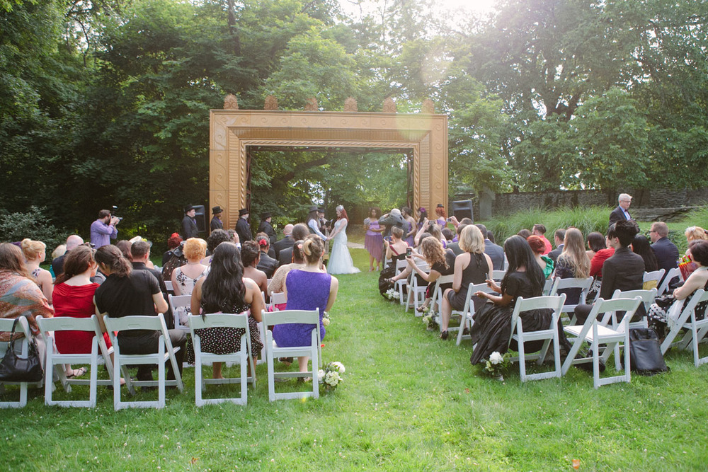 Abington_Art_center_wedding_garden