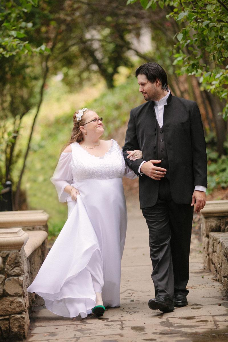 outdoor oakland wedding