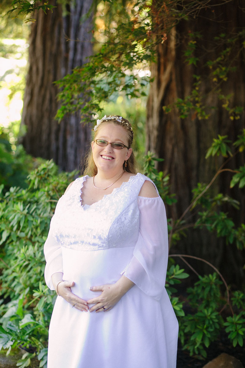 pregnant bride wedding