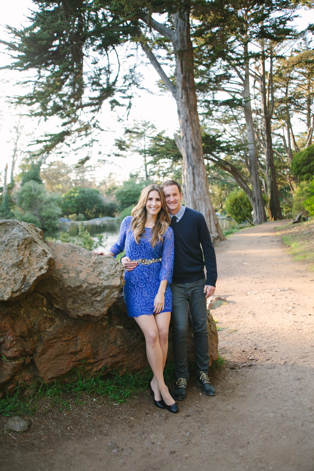 stow lake bridge engagement