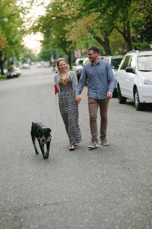 engagement photographer dog