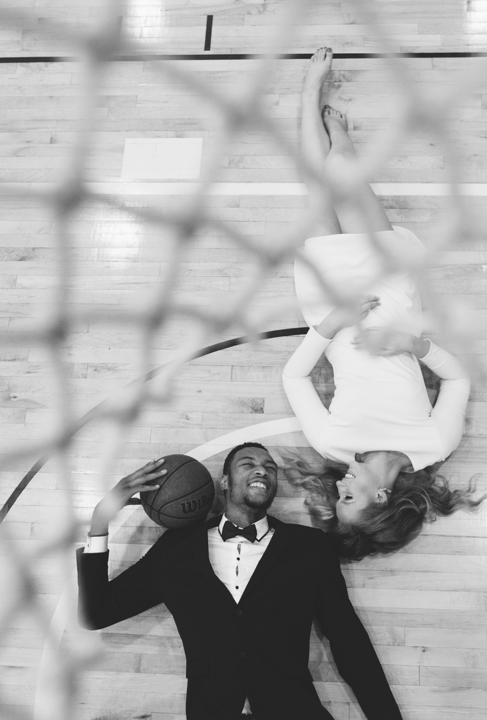basketball engagement temple philadelphia deborah huber photography