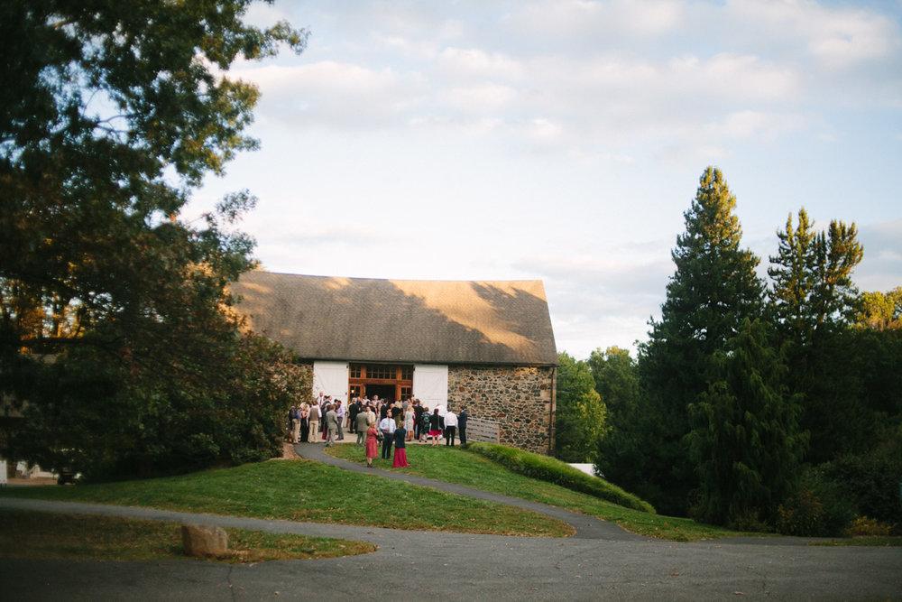 Tyler Arboretum barn wedding