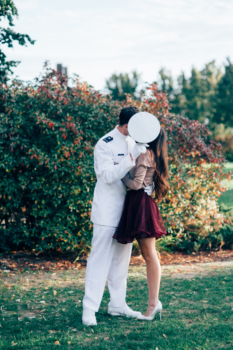 Wedding Military Engagement Shoot