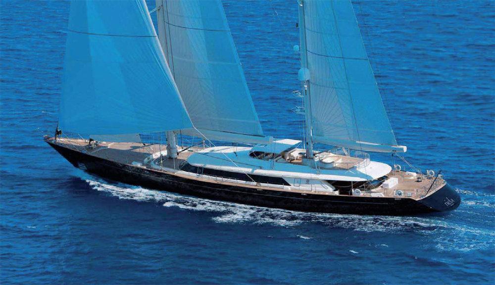 Riella - 56m sailing yacht - Perini Navi
