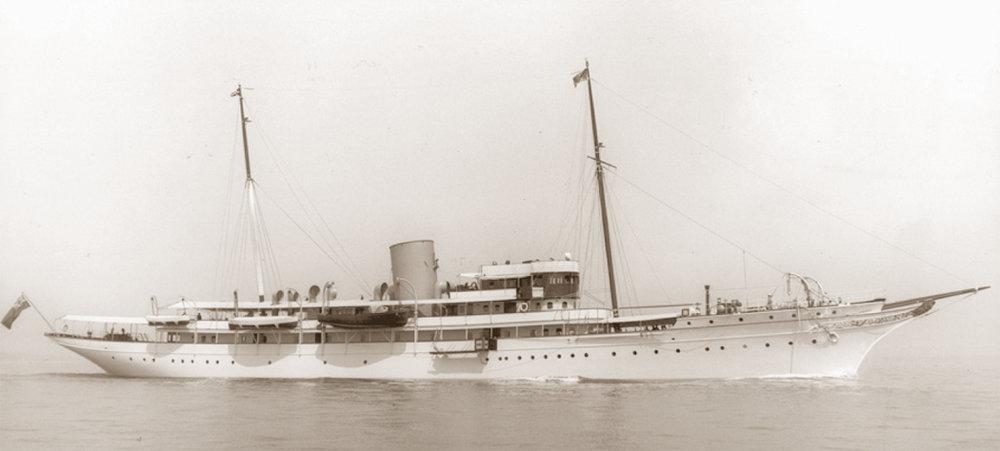 Nahlin - 108m motor yacht - Blom & Voss