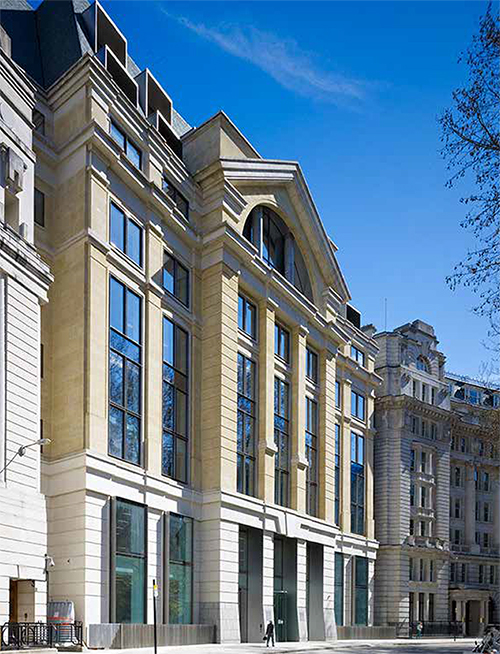 Savills Finsbury Circus - London 2014-15