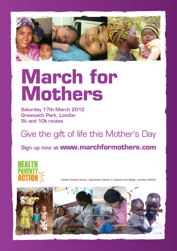 March for Mothers Poster
