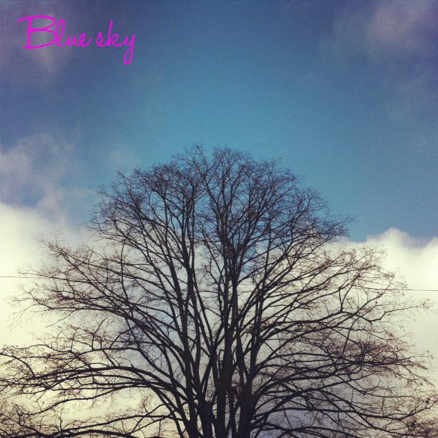 Blue sky 01