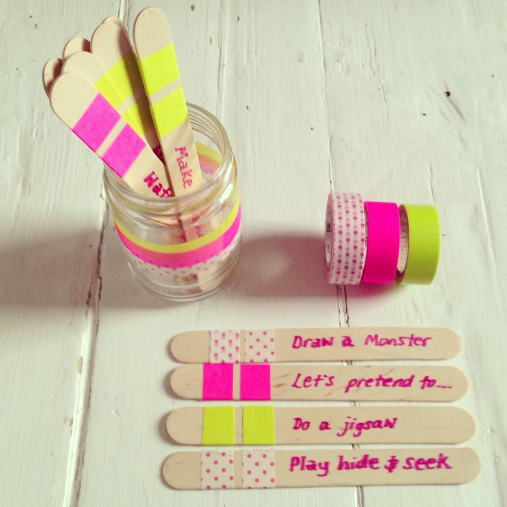 Summer holiday make and do don 39 t get bored sticks makelight for Cool things to make and do