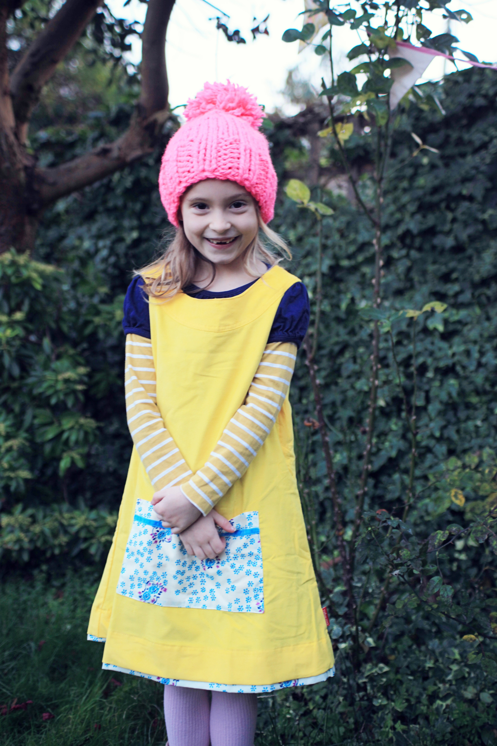 Pick-a-pocket dress Lemon Squeezy