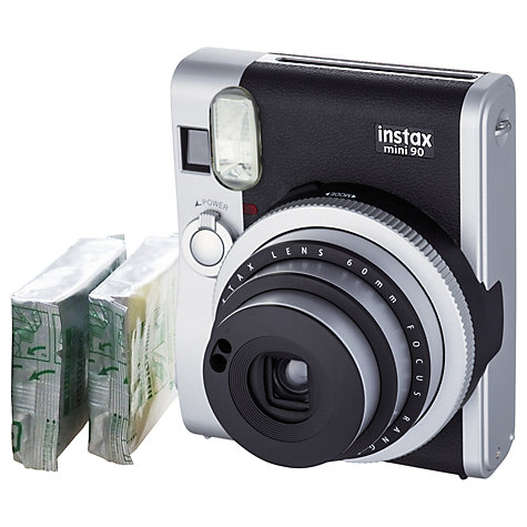 Fujifilm Instax Mini 90 Neo Classic Instant Analogue Camera